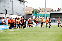 Barnet make 10 substitutions during the Friendly match between Barnet and Crystal Palace at The Hive, London, England on 11 July 2015. Photo by David Horn.