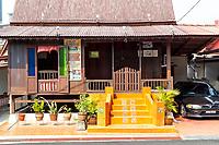 Kampung Morten Houses, Melaka, Malaysia.