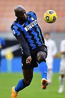 Romelu Lukaku of FC Internazionale in action during the Serie A football match between FC Internazionale and Torino FC at stadio San Siro in Milano (Italy), November 22th, 2020. Photo Image Sport / Insidefoto