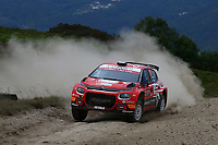 21st May 2021, Arganil, Portugal. WRC Rally of Portugal;  Nicolas Ciamin-Citroen C3 WRC2