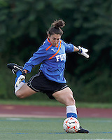 New York Fury goalkeeper Michelle Betos (1). In a Women's Premier Soccer League Elite (WPSL) match, the Boston Breakers defeated New York Fury, 2-0, at Dilboy Stadium on June 23, 2012.