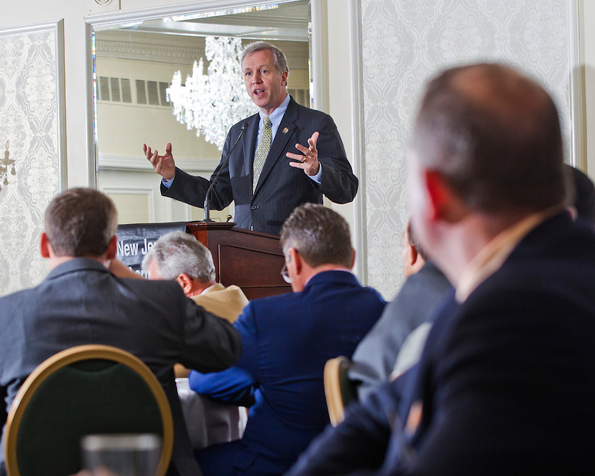 New Jersey Assembly Deputy Speaker John Wisniewski (D-Middlesex) was keynote speaker at the 2013 New Jersey Asphalt Pavement Association Annual Awards Program at the Molly Pitcher in Red Bank on May 15, 2014.  photo by Andrew Mills