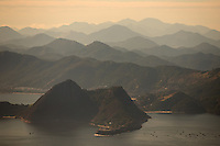 A general view of Rio de Janeiro from the Christ the Redeemer statue