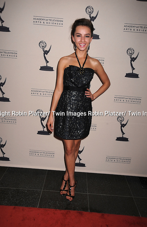 attending the Television Academy's Daytime Programming Peer Group presents a cocktail reception in honor of the 2011 Daytime Emmy Awards Nominees on June 16, 2011 .at The SLS Hotel at Beverly Hills in California.