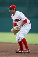 July 19th, 2007:  Charlie Pelt of the Batavia Muckdogs, Short-Season Class-A affiliate of the St. Louis Cardinals at Dwyer Stadium in Batavia, NY.  Photo by:  Mike Janes/Four Seam Images