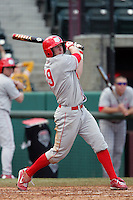 March 7 2010: Chris Juarez of University of New Mexico during game against USC at Dedeaux Field in Los Angeles,CA.  Photo by Larry Goren/Four Seam Images