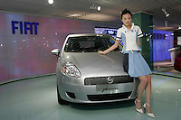A Fiat Punto is shown in The Beijing International Automobile Exhibition..19 Nov 2006