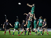 27th December 2020 | Connacht  vs Ulster <br /> <br /> Jarrad Butler during the Guinness PRO14 match between Connacht and Ulster at The Sportsground in Galway.. Photo by John Dickson/Dicksondigital