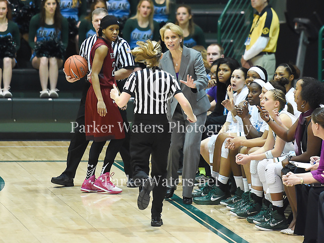 First half images as Tulane women's basketball downs Temple, 77-63.