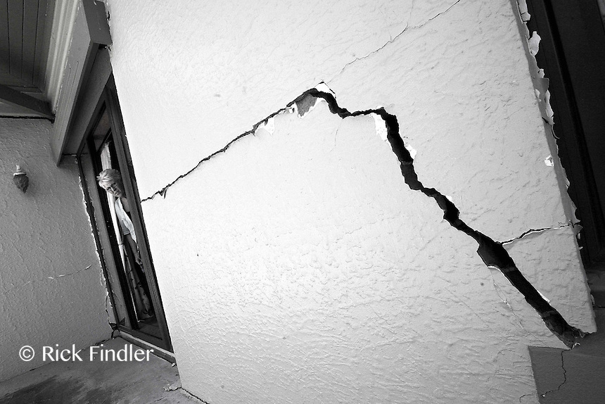 Jill Richmond returns to her friends house to see the damage which was caused 11 months ago by the Christchurch earthquake which claimed 185 lives.