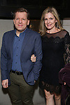"""David Lindsay-Abaire and Christine Lindsay-Abaire attends the Broadway Opening Night for the MTC  production of  """"The Height Of The Storm"""" at Samuel J. Friedman Theatre on September 24, 2019 in New York City."""