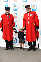 Laura Hamilton's daughter, Tahlia<br /> arrives for the In Kind Direct's 20th Birthday Celebration at The Royal Hospital, Chelsea , London. <br /> <br /> <br /> ©Ash Knotek  D3291  07/08/2017