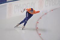 SPEEDSKATING: 07-12-2018, Tomaszów Mazowiecki (POL), ISU World Cup Arena Lodowa, 500m Ladies Division A, Jutta Leerdam (NED), ©photo Martin de Jong