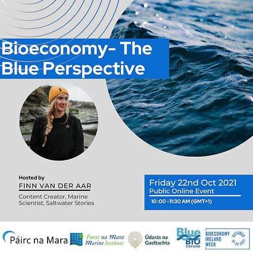 Bioeconomy-The Blue Perspective event advert