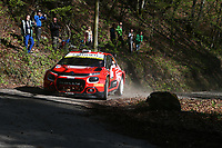 24th April 2021; Zagreb, Croatia; WRC Rally of Croatia, stages 9-16; M.Otsberg - Citroen C3 WRC2