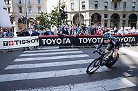 Michael Storer (AUS/DSM)<br /> <br /> 104th Giro d'Italia 2021 (2.UWT)<br /> Stage 21 (final ITT) from Senago to Milan (30.3km)<br /> <br /> ©kramon