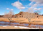 North House Hlauuma and Red Willow Creek Rio Pueblo, Northern Tiwa Indian, Taos Pueblo, Taos, New Mexico