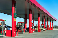 Super gas station, USA