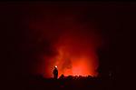 Bushfire, Ngorongoro, Tanzania, October 2006.