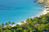 View of Cinnamon Bay<br /> from the luxury villa<br /> Hakuna Matata in Catherineberg<br /> Virgin Islands National Park<br /> St. John USVI