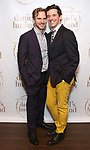 """Ryan Spahn and Michael Urie during the Opening Night Celebration for """"Daniel's Husband"""" at the West Bank on October 28, 2018 in New York City."""