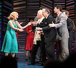 """Kristin Chenoweth, Neil Simon, Sean Hayes, Hal David.taking a bow on the  Opening Night Broadway performance Curtain Call for """"PROMISES, PROMISES"""" at the Broadway Theatre, New York City..April 25, 2010."""