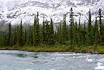 Ravensthroat River, Mackenzie Mountains, Northwest Territories, Canada