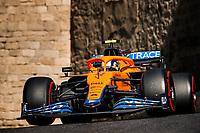 6th June 2021; F1 Grand Prix of Azerbaijan, Race Day;  04 NORRIS Lando gbr, McLaren MCL35M during the Formula 1 Azerbaijan Grand Prix 2021 at the Baku City Circuit