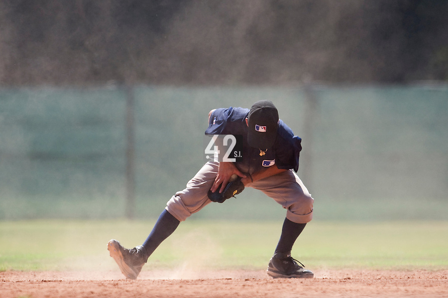 Baseball - MLB Academy - Tirrenia (Italy) - 19/08/2009 - Infield practice