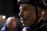 post-race moustache by Sven Nys (BEL/Crelan-AAdrinks)<br /> <br /> Superprestige Diegem 2015