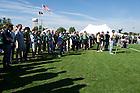 Sept. 28, 2013; Stinson Rugby Dedication. Photo by Barbara Johnston/University of Notre Dame