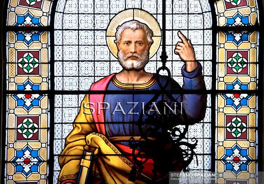 Mosaic Glass St Peter Apostolic Palace 2011..