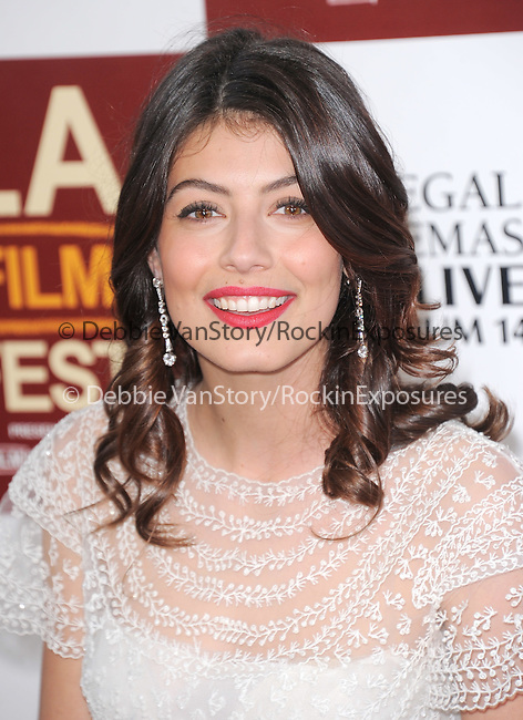 Alessandra Mastroianni at The Los Angeles Film Festival North American Premiere of ?TO ROME WITH LOVE, ? held at   The Regal Cinemas L.A. LIVE Stadium 14 in Los Angeles, California on June 14,2012                                                                               © 2012 Hollywood Press Agency