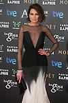 Nieves Alvarez attend the 2015 Goya Awards at Auditorium Hotel, Madrid,  Spain. February 07, 2015.(ALTERPHOTOS/)Carlos Dafonte)