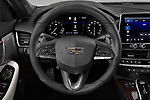 Car pictures of steering wheel view of a 2020 Cadillac CT5-V V-Series 4 Door Sedan Steering Wheel
