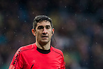 Referee Alberto Undiano Mallenco looks on during the La Liga 2017-18 match between Real Madrid and Villarreal CF at Santiago Bernabeu Stadium on January 13 2018 in Madrid, Spain. Photo by Diego Gonzalez / Power Sport Images