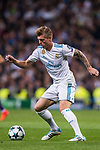 Toni Kroos of Real Madrid in action during the UEFA Champions League 2017-18 match between Real Madrid and Tottenham Hotspur FC at Estadio Santiago Bernabeu on 17 October 2017 in Madrid, Spain. Photo by Diego Gonzalez / Power Sport Images