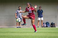STANFORD, CA - September 3, 2017: Kiara Pickett at Cagan Stadium. Stanford defeated Navy 7-0.