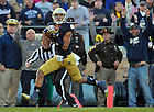 Nov. 17, 2012; TJ Jones catches a touchdown pass.
