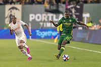 Portland, Oregon - Sunday August 18, 2019: The Portland Timbers v Atlanta United at Providence Park