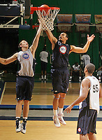 Perry Ellis  at the NBPA Top100 camp June 18, 2010 at the John Paul Jones Arena in Charlottesville, VA. Visit www.nbpatop100.blogspot.com for more photos. (Photo © Andrew Shurtleff)