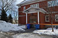 Perquisition de l'UPAC et  mise sous tutelle de la ville de Chambly<br /> ,  le 27 Février 2019 <br /> <br /> <br /> PHOTO : Agence Quebec Presse<br />  - Mathieu TYE