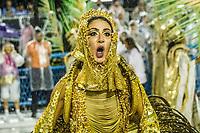 RIO DE JANEIRO (RJ) 29.02.2020 - Carnaval - Rio Escola de samba Estacao Primeira de Mangueira no desfile das campeas das escolas de samba do Grupo Especial do Rio de Janeiro neste sabado (29) na Marques de Sapucai. Musa de chao Luisa Langer. (Foto: Ellan Lustosa/Codigo 19/Codigo 19)
