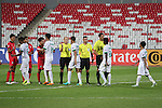 Saudi Arabia vs Thailand during the 2016 AFC U-19 Championship Group A match at Bahrain National Stadium on 16 October 2016, in Riffa, Bahrain. Photo by Jaffar Hasan / Lagardere Sports