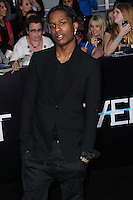 """WESTWOOD, LOS ANGELES, CA, USA - MARCH 18: A$AP Rocky at the World Premiere Of Summit Entertainment's """"Divergent"""" held at the Regency Bruin Theatre on March 18, 2014 in Westwood, Los Angeles, California, United States. (Photo by Xavier Collin/Celebrity Monitor)"""