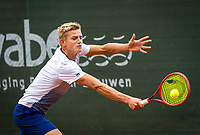 Netherlands, September 27,  2020, Beneden-Leeuwen, TV Lewabo, Competition, Men's premier league, TV Lewabo vs TV Suthwalda,  Niels Visker (NED)<br /> Photo: Henk Koster/tennisimages.com