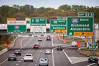 Route 66 Beltway 495 Tysons Merrifield Northern Virginia