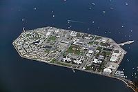 aerial photograph Treasure Island San Francisco