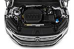 Car Stock 2021 Volkswagen Arteon SEL-Premium-R-Line 5 Door Hatchback Engine  high angle detail view