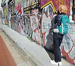 Sydney Park Wetlands Photo Walk. May Lane grafitti in St Peters, Sydney, NSW, Australia